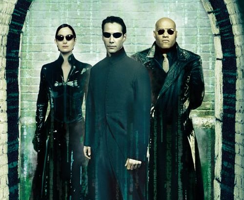 "Plakat von ""Matrix Reloaded"""