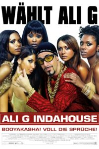 "Plakat von ""Ali G in da House"""